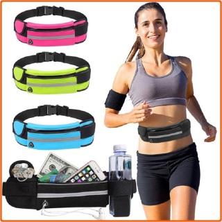 Túi đeo hông chạy bộ thể thao nam, nữ , túi đeo bụng chạy bộ thiết kế dây nịt, không thấm nước, có lỗ tai nghe thông minh và dải phản quang an toàn thumbnail