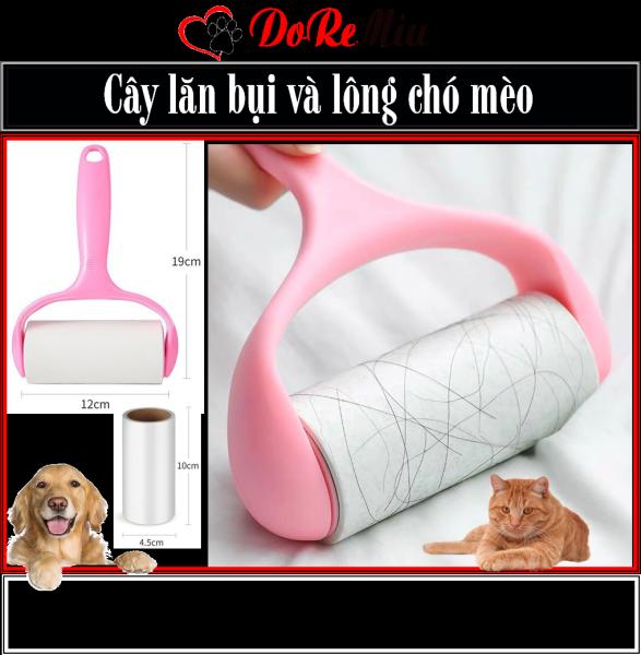 Doremiu- Cây lăn bụi và dính lông thú cưng, nhặt lông chó mèo trên mọi bề mặt làm sạch ga giường sofa