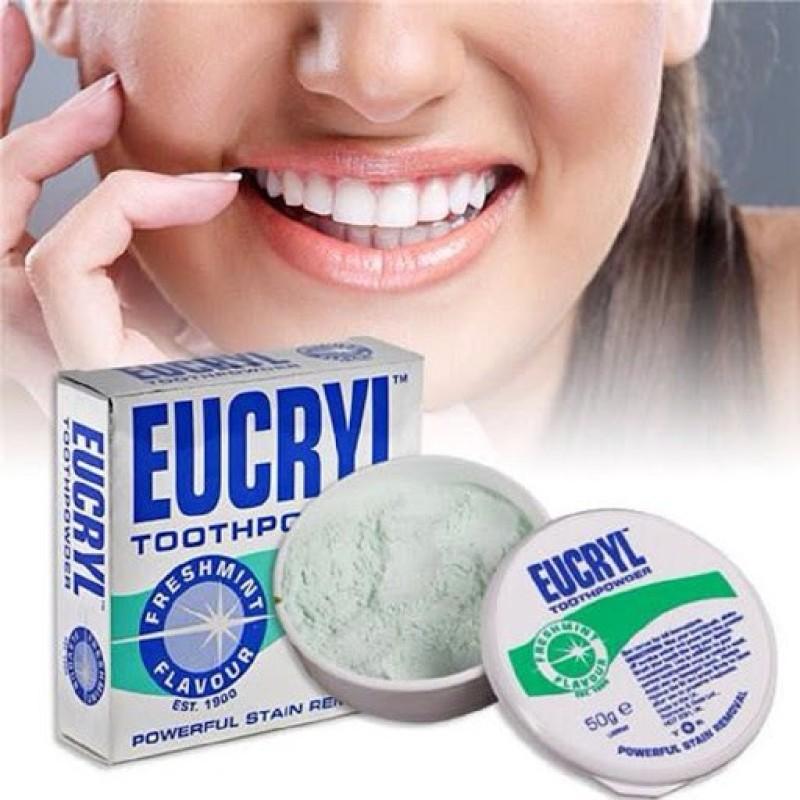 Bột Tẩy Trắng Răng Eucryl giá rẻ
