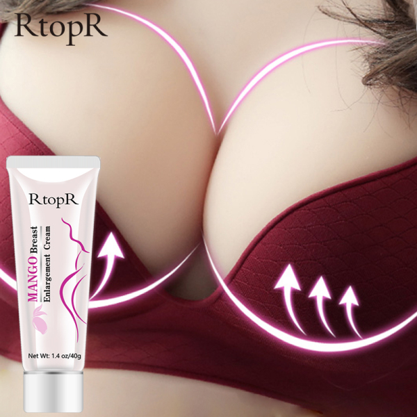RtopR Kem nâng ngực xoài cho phụ nữ độ đàn hồi toàn bộ chăm sóc ngực làm săn chắc nâng ngực Kem tăng trưởng nhanh Kem cơ thể Big Bust Mango Breast Enlargement Cream nhập khẩu
