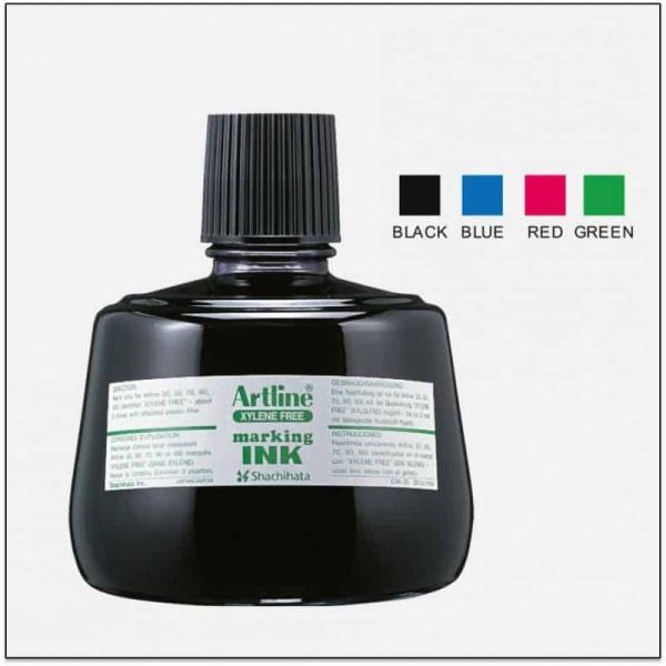 Mua Mực lông dầu chuyên đóng lên bao bì Artline Japan ESK-3 ( hộp 1 lọ)
