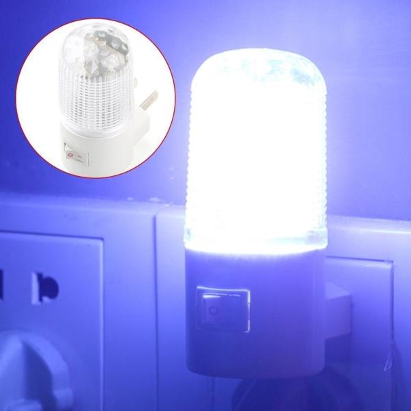 Đèn ngủ bóng tròn- Đèn ngủ 3W tròn tiết kiệm điện, ánh sáng dịu nhẹ và an toàn khi sử dụng