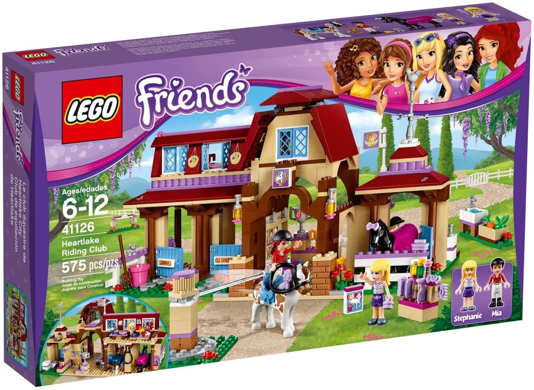 Mô hình Lego Friends 41126 – Câu lạc bộ cưỡi ngựa
