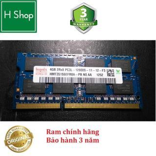 Ram Laptop DDR3L 4Gb bus 1600 - 12800s hiệu HYNIX bảo hành 3 năm thumbnail