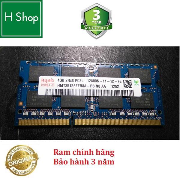 Giá Ram Laptop DDR3L 4Gb bus 1600 - 12800s, hiệu HYNIX bảo hành 3 năm