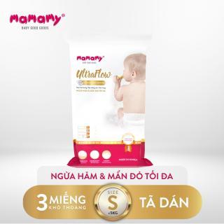 Combo 3 miếng tã dán Mamamy Ultraflow Size S thumbnail