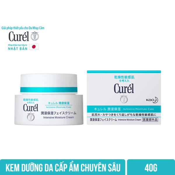 Kem Dưỡng Da Cấp Ẩm Chuyên Sâu Curel Intensive Moisture Care Intensive Moisture Cream 40g