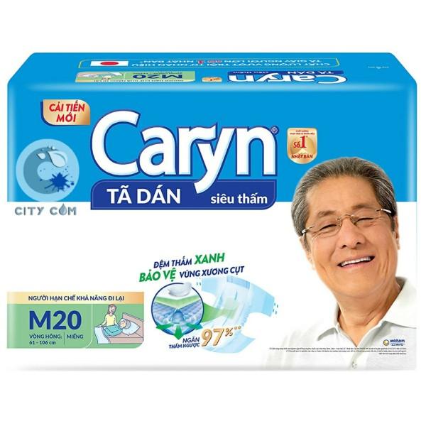 Tã dán người già Caryn M20 giá rẻ