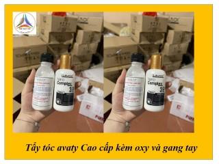 Tẩy tóc avaty cao cấp nâng tone tặng kèm oxy trợ nhuộm+gang tay+lược thumbnail