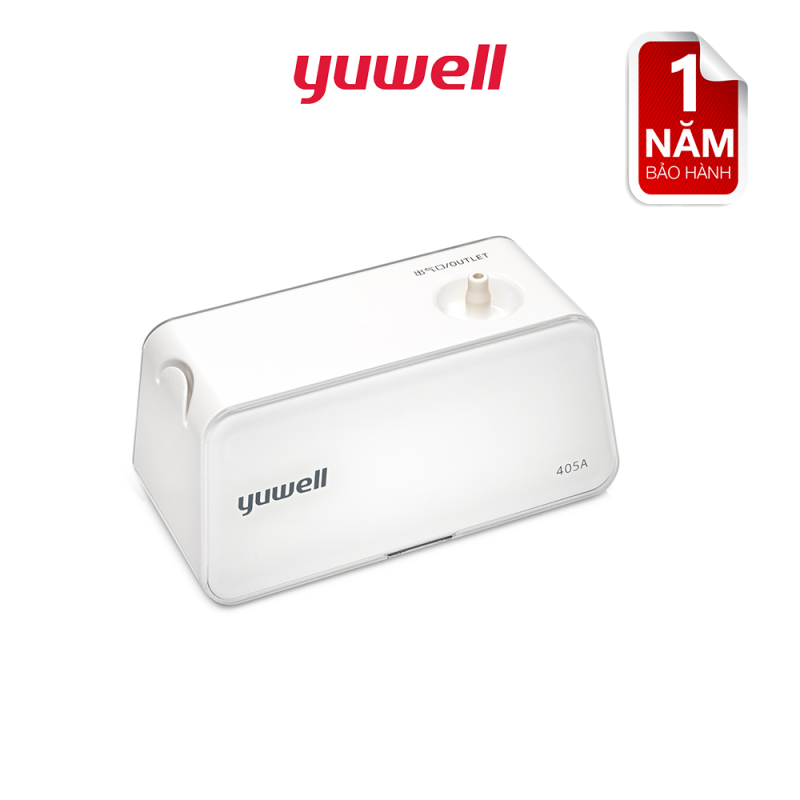 Máy xông dung khí Yuwell 405A hỗ trợ điều trị các bệnh hô hấp