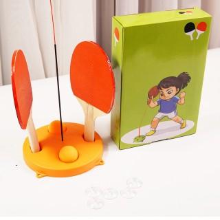 Bộ đánh bóng bàn luyện phản xạ - Bộ đồ chơi bóng bàn phản xạ - Dụng cụ đánh bóng bàn cho mọi lứa tuổi - Luyện cho đôi tay dẻo dai thumbnail