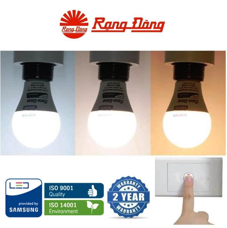 Bóng đèn LED đổi 3 màu (3 in 1) 9W Rạng Đông - SAMSUNG ChipLED