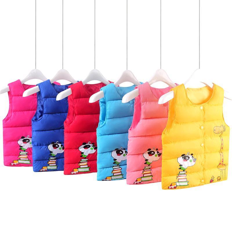 Áo khoác siêu nhẹ cho bé , áo khoác thời trang cho bé , Áo Phao Gile Hàng Quảng Châu Cho Bé trai Bé gái - AK5 + thẻ tích điểm tại Happyshop92