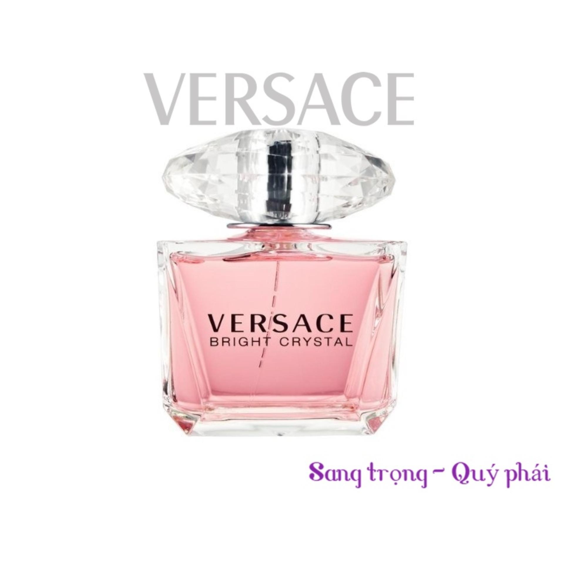Nước hoa nữ TESTER Versace Bright Crystal Eau De Toilette 90ml