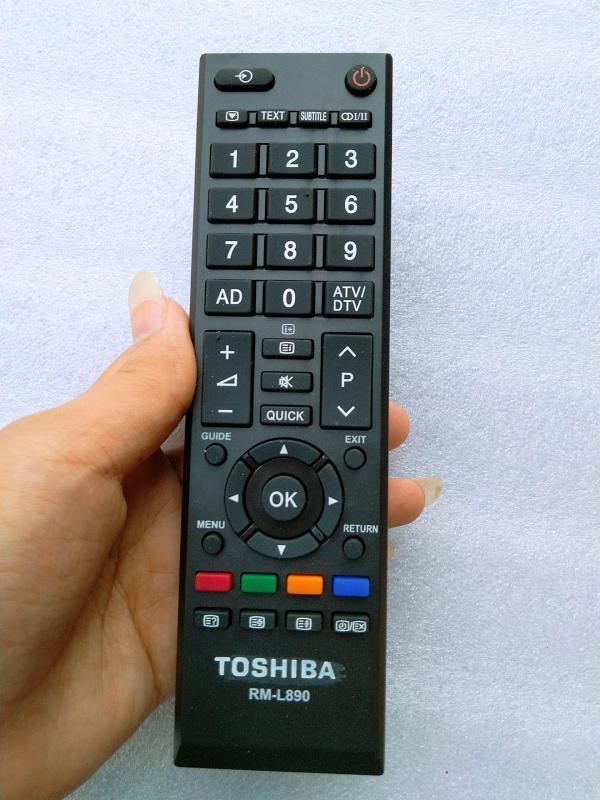 Bảng giá ĐIỀU KHIỂN TIVI TOSHIBA LCD LED HÀNG HỘP
