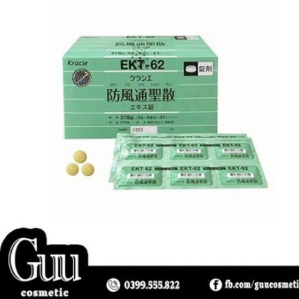 Viên uống giảm cân Nashi Diet Kracie EKT62 378 viên Nhật Bản nhập khẩu