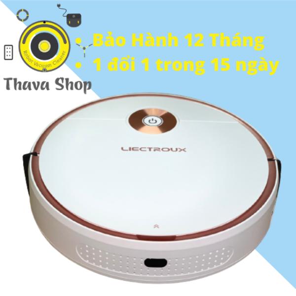 #Thava Robot Hút Bụi Lau Nhà Tự Động Liectroux T6S