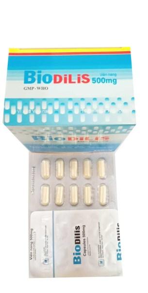 Men tiêu hóa BIODILIS Hộp 100 viên
