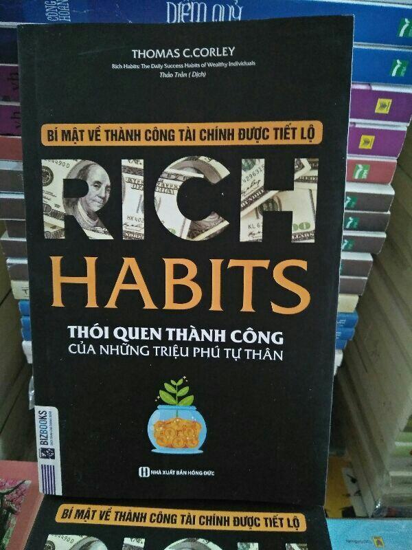 Mua Rich Habits Thói quen thành công của những triệu phú tự thân