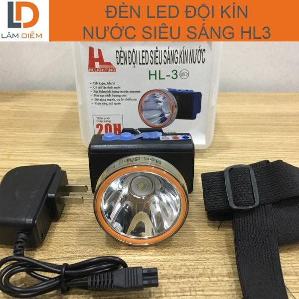 Đèn đội kín nước siêu sáng 3 chế độ HL3