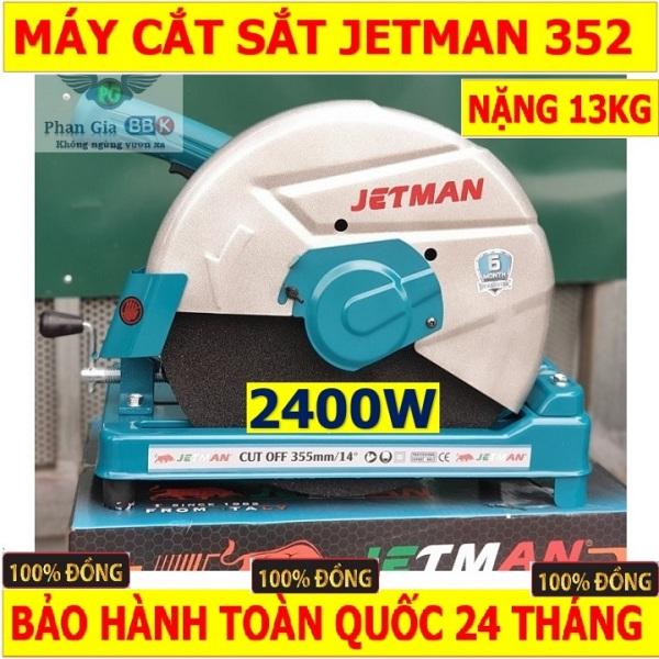 Máy cắt sắt cao cấp Jetman 352R - 2400W bảo hành chính hãng 24 tháng