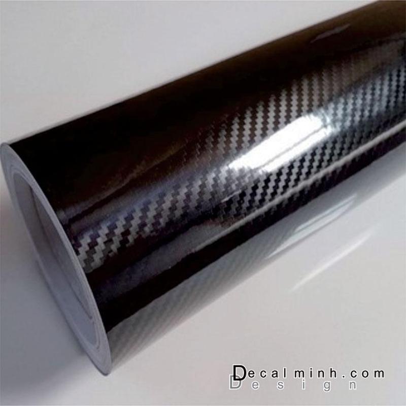 Decal dán xe Carbon 5D