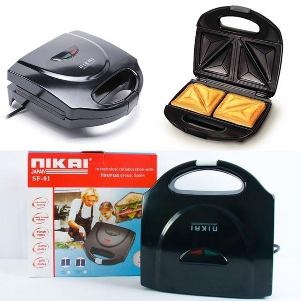 Máy nướng bánh Nikai - Máy nướng bánh chống dính - Máy nướng bánh tiện lợi thông minh