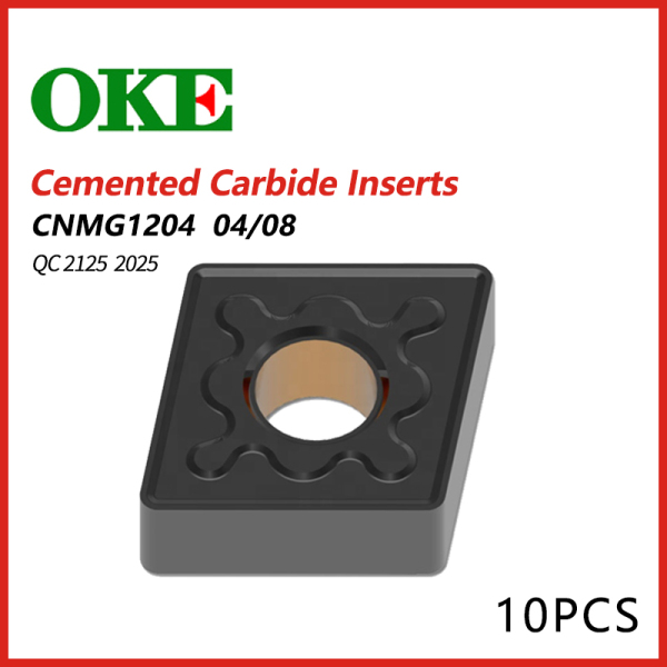 OKE Cemented Carbide Inserts CNMG 1204/2204  OC2125 2025