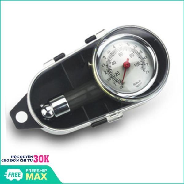 Đồng hồ đo áp suất lốp xe máy ô tô - Đồng hồ đo áp suất lốp xe, kiểm tra lốp xe hơi, xe máy loại tốt