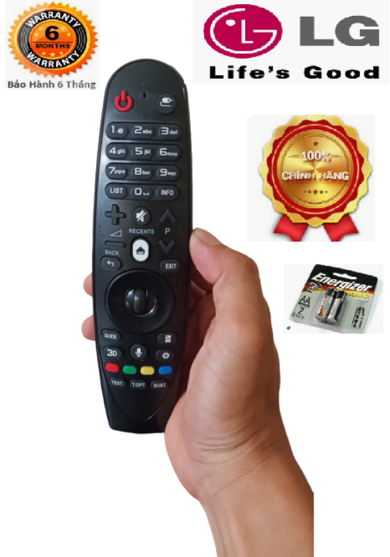 Bảng giá Điều khiển tivi Smart thông minh LG có nút 3D- Hàng chính hãng -Mới 100%