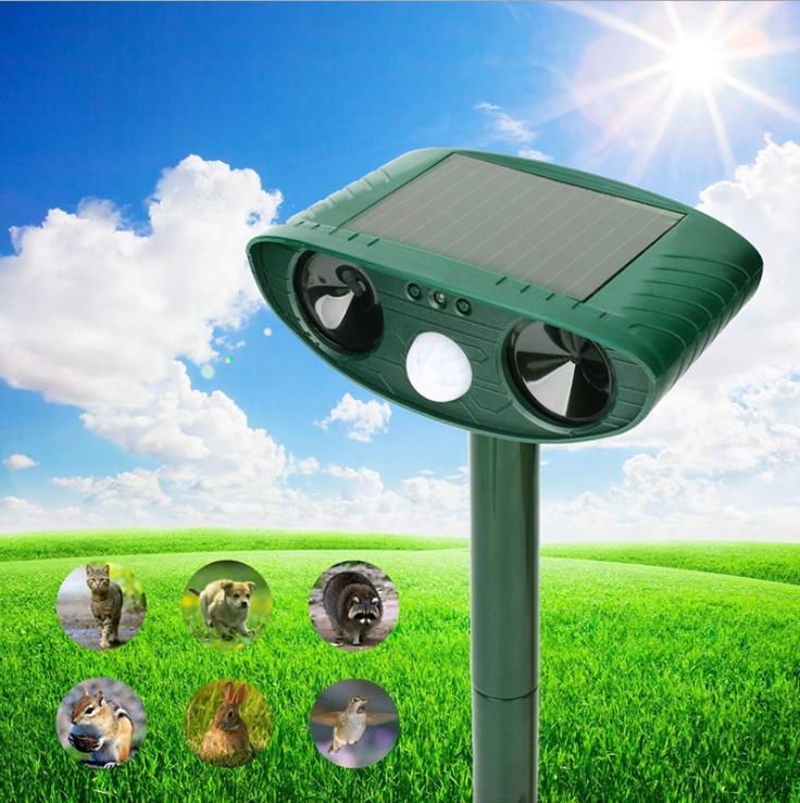 Smart Store - Repeller Solar - Máy đuổi chim, chuột gây hại trên đồng(chứng chỉ CE, RoHS)