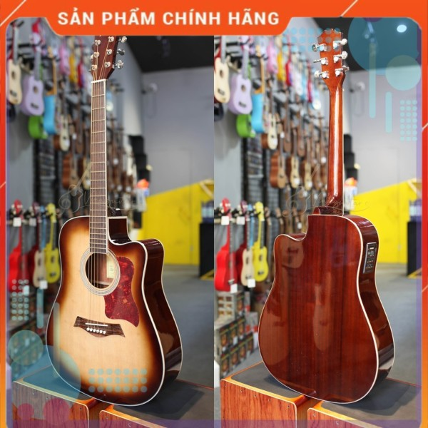 ĐÀN guitar fender CD60 sẵn EQ bóng - Phân phối chính hãng bởi nhaccu3so