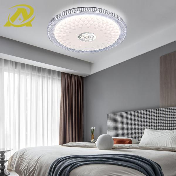 Bảng giá Mẫu đèn led ốp trần mới hình tròn hiệu ứng sao sáng trang trí phòng làm việc, phòng ngủ, phòng ăn 3 chế độ màu 48W- 9006