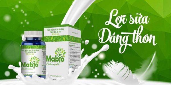 Viên uống lợi sữa Mabio-Sữa mẹ tràn trề, bé bú no nê-Hộp 60 viên