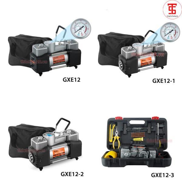 Máy bơm lốp mini 2 xi-lanh tốc độ cao 3 Phiên bản GXE12