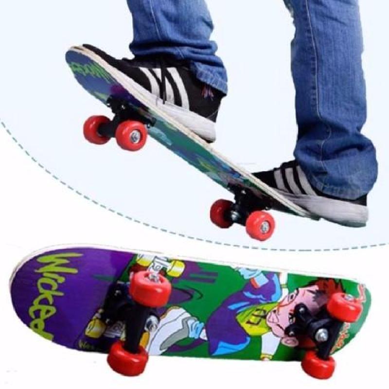 Skateboard, Ván Trượt Thể Thao, Mua Van Truot Gia Re, Ván Trượt Trẻ Em - Mua Ván Trượt Siêu Anh Hùng Giúp Bé Vui Chơi Lành Mạnh Và Phát Triển Thể Lực , Nhanh Nhạy Dẻo Dai