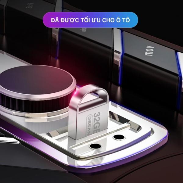 USB 32GB MINI CHỐNG NƯỚC PHÁT NHẠC CHO OTO - CÓ SẴN 2600 BÀI HÁT MP3 ĐỦ THỂ LOẠI - BẢO HÀNH 5 NĂM - TẶNG OTG