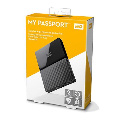 Ổ Cứng Di Động 2TB W D My passport US