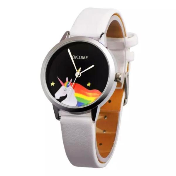 Giá bán Đồng hồ đeo tay cho bé gái hình ngựa 1 sừng dây da sành điệu BBShine – DH010