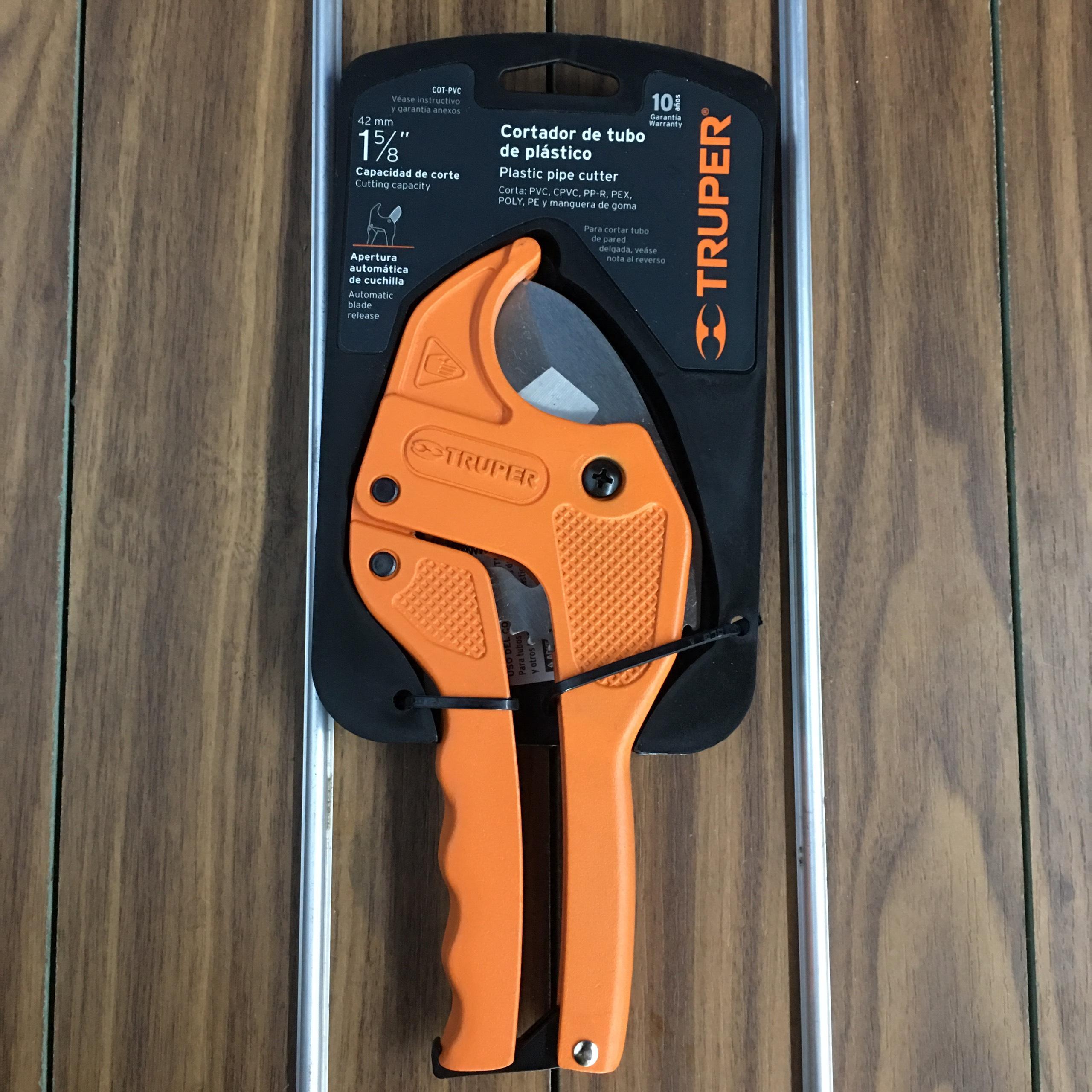 1inch5/8 (42mm) Kéo cắt ống nhựa PVC Truper 12860 (COT-PVC)