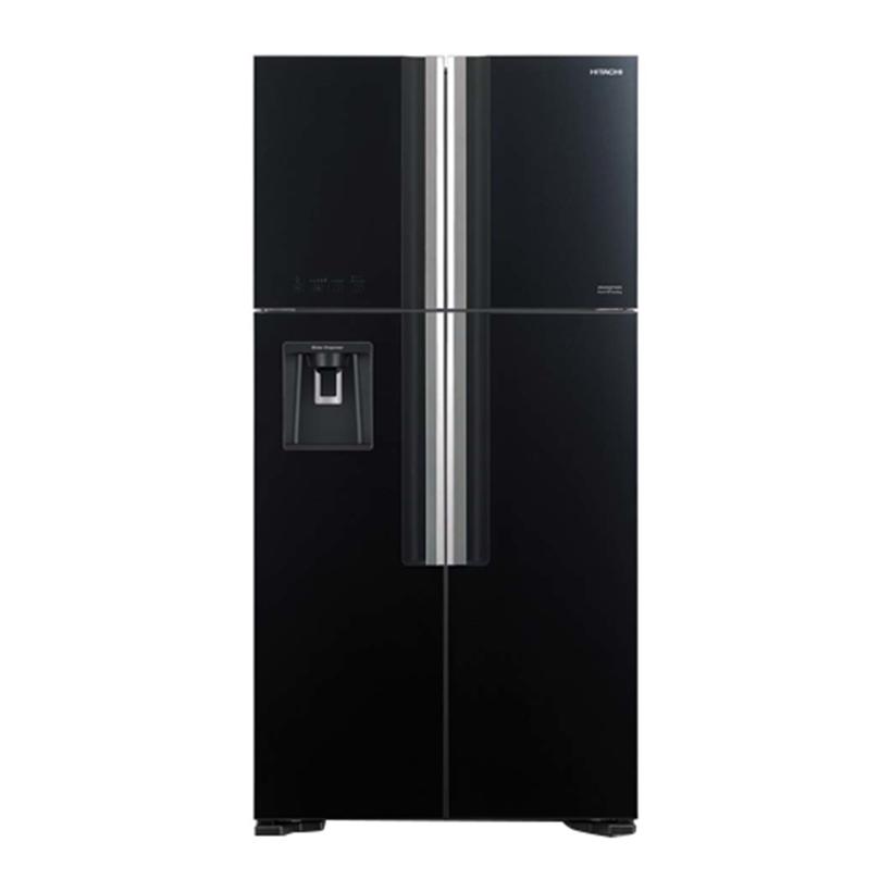 [Trả góp 0%]Tủ lạnh Hitachi R-FW690PGV7 (GBK) 540 lít Inverter (Đen)