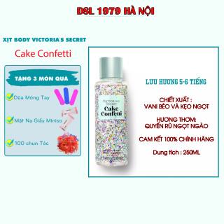 Xịt thơm toàn thân Victoria s Secret, xịt thơm body mist Cake Confetti 250ml thumbnail