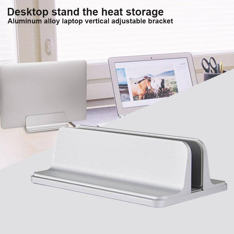 Bảng giá Aluminum Alloy Silvery Laptop Stand Notebook Support Tablet Antiskid Desktop Stents Universal Portable Stand Home Notebook Holder Phong Vũ