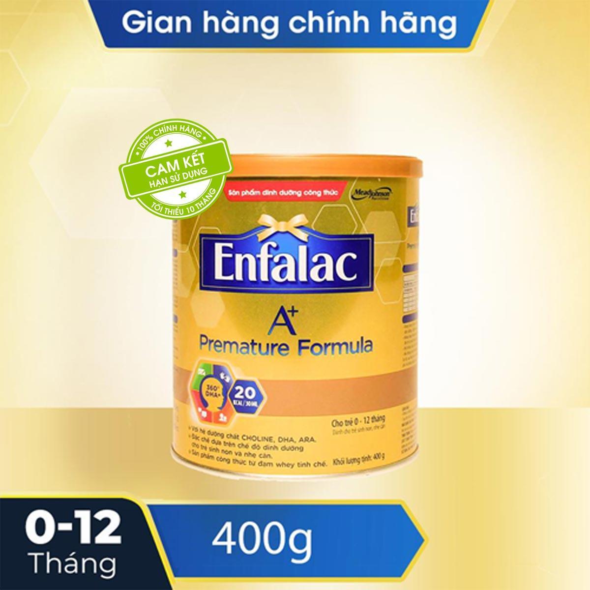 Sữa bột Enfalac A+ Premature 400g (dành cho trẻ sinh...
