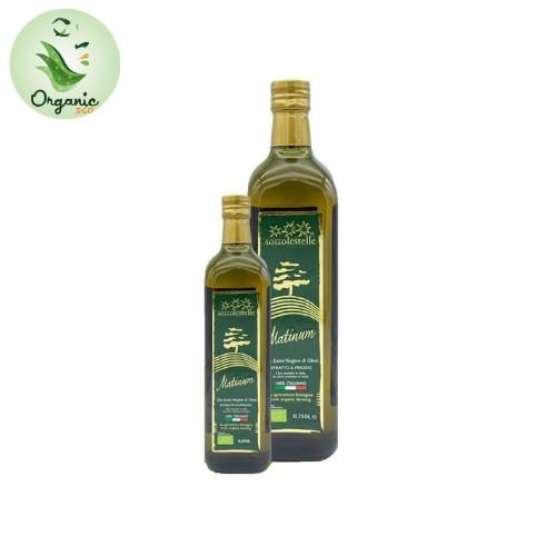 Dầu Oliu Nguyên Chất Ép Lạnh Hữu Cơ 750ml– Sottolestelle Organic Extra Virgin Olive Oil