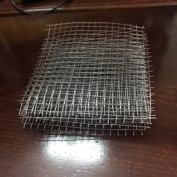 5 Vỉ inox 304 (10x10cm)- cột rêu thuỷ sinh