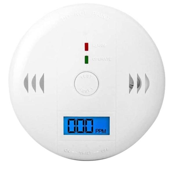 Carbon Monoxide Detector Gas Detection Digital Display Carbon Monoxide Alarm Power Detector