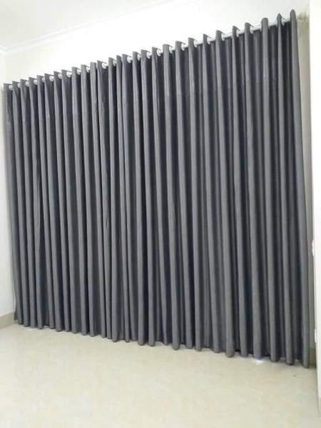 Rèm cửa chính chống nắng rộng 2m5 * cao 3m