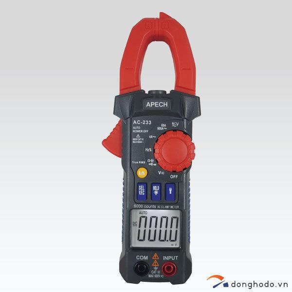 Ampe kìm đo AC APECH AC-233 (600A)