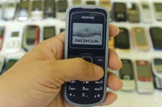 điện thoại giá rẻ nokia 1202 chính hãng - máy đủ màu thumbnail
